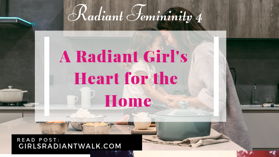 A radiant girls heart for the home