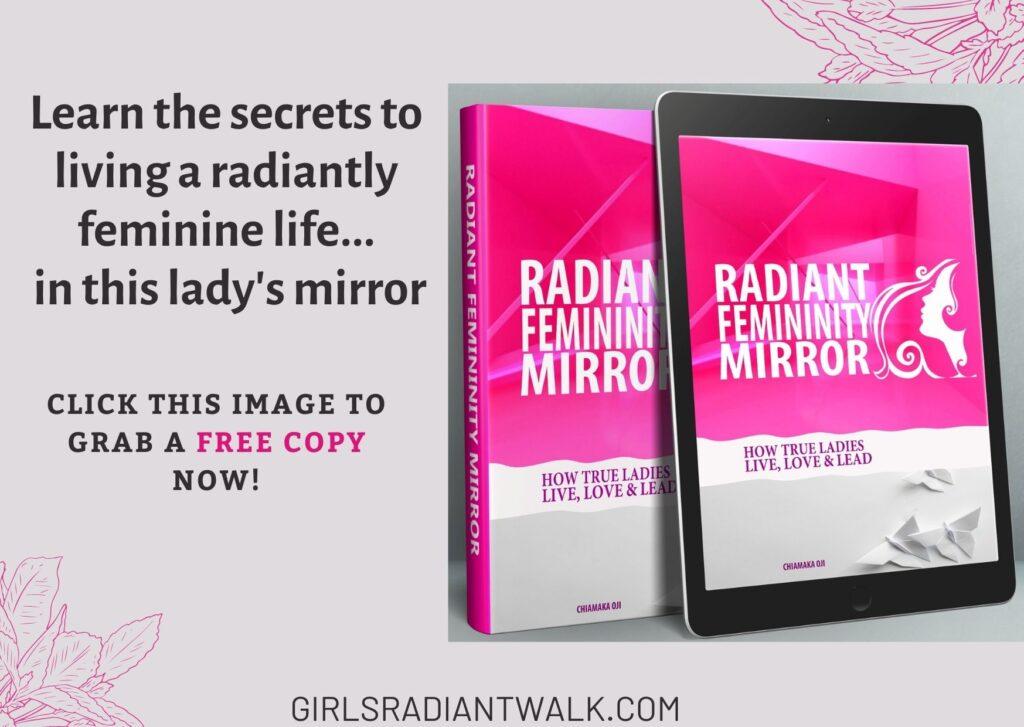 Radiant Femininity Mirror